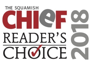 Squamish home inspection award from the squamish chief Readers Choice 2018