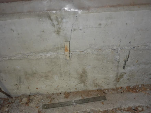 minor crack found in house inspection
