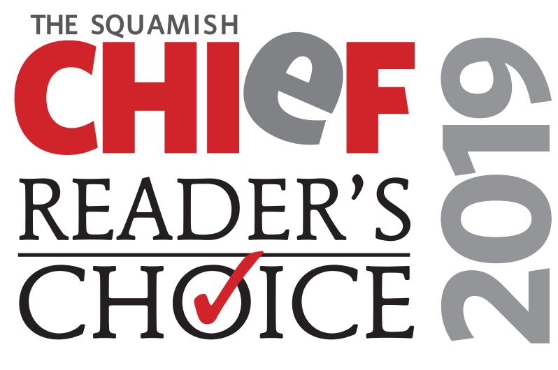 Squamish readers choice award